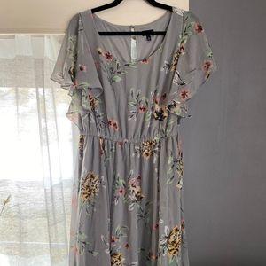 Stunning Torrid Floral dress
